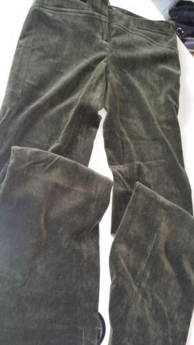 Pantalone Scuro Alysi Classico Donna 44 Verde Misura Elastico Muschio wCwZq7