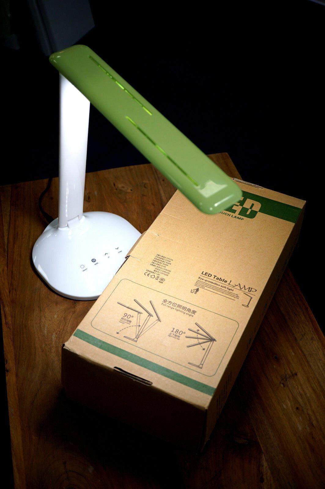 LED Bindelampe green 3 Lichtstufen 2 Lichtfarben multi verstellbar EU Plug AC DC