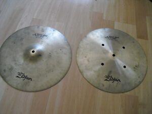 """14"""" Avedis Zildjian A Quick Beat Charleston Hi Hats Cymbales 1180 G 1430 G-afficher Le Titre D'origine SuppléMent éNergie Vitale Et Nourrir Yin"""