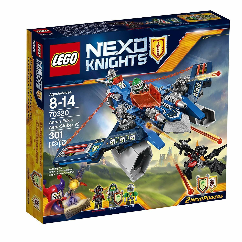 LEGO 70320 - Nexo Knights - AARON FOX'S AERO STRIKER STRIKER STRIKER - New & Sealed 63db89