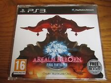 Final Fantasy XIV Online A Realm Reborn PROMO – PS3 ~ NEW Full Promotional Game