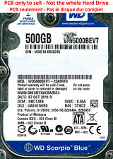 PCB 2060-771672-004 - Western Digital WD5000BEVT - WD5000BEVT-22A0RT0 - 500Go
