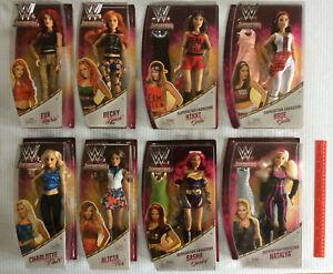 Les superstars féminins de Smackdown de Wwe accomplissent le lot de 8 poupées de mode 12   Diva Wrestlers