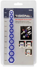 "SIGNET Magnetic Socket Inserts Set 10pc 10 - 19mm 1/4"" 3/8"" 1/2"" S95065"