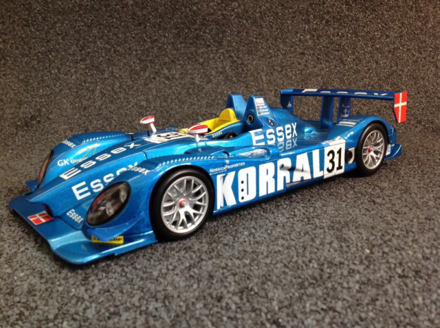 Modelbil, 2008 Porsche RS Spyder Team Essex LMP2 #31 ,…