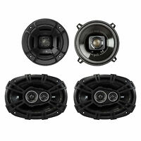 Polk Audio 5.25 300w Car/marine Atv Speakers, Pair + 6 X 9 360w Speakers, Pair on sale