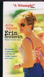Erin Brockovich 2000 Vintage Vhs Cassette Ebay
