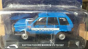 DIE-CAST-034-RAYTON-FISSORE-MAGNUM-2-5-TDI-1997-034-POLIZIA-SCALA-1-43