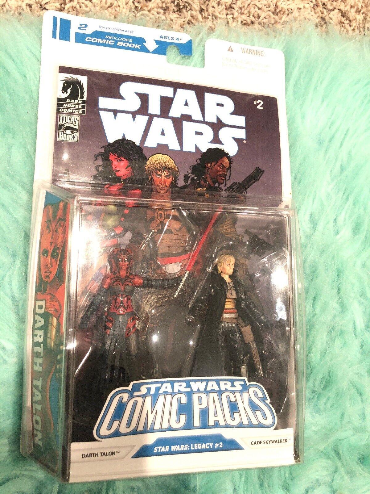 Raro Comic Pack Star Wars Darth Talon & Cade Skywalker error no Sable De Luz