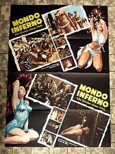 MONDO INFERNO - Alle Sünden dieser Welt * A1-FILMPOSTER - German 1-Sheet 1964