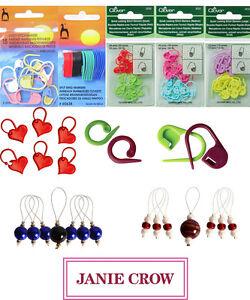 Knitting-Locking-marcadores-de-punto-marcadores-de-punto-de-ganchillo-marcadores-de-anillo-de-split