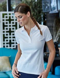Polo-Mujer-Camisa-De-Manga-Corta-Algodon-Hasta-60-C-LAVABLE-teejays-S-3xl