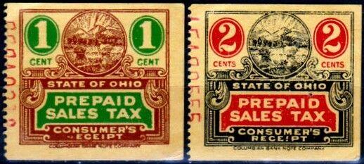 State of Ohio Prepaid Sales Tax, Consumer's Receipt, 1