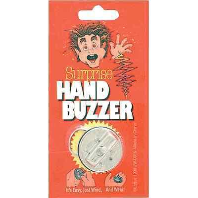Metal Hand Buzzer - Surprise Prank Classic Practical Joke Funny Gag