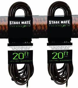 (2) Nouvelle étape Mate Ccts - 20 Thermo-peau 20' Corde Pour Guitare Noir Livraison Gratuite!!!-afficher Le Titre D'origine