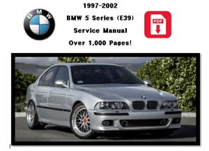 BMW E39 5 Series 1997-2002 Workshop Service Repair Manual Digital ...
