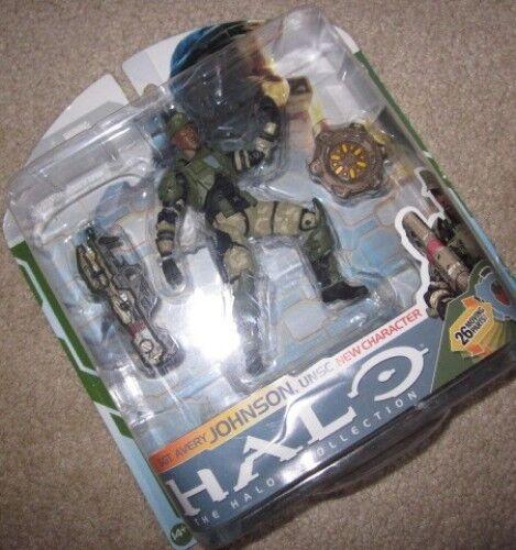 Halo 3 Sgt. Johnson con Spartan láser Figura de Acción (XBOX 360/One/X) nuevo como nuevo