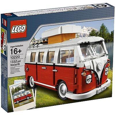 Orginal VW Lego Bulli T1 Rot Weiß Campingbus Lego Creator T1 Buli Campingbus
