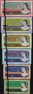 Set-Barbuda-1-2-5-10-20-50-Dollars-2019-Fantasy-QEII-Hybrid-Polymer