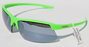 0375ab7019 Image is loading SUNCLOUD-Flyer-POLARIZED-Sunglasses-Green-Silver-Mirror-NEW -