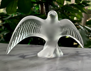 Lalique-Chirping-Swallow-Martinet-Chanteur-Crystal-Figurine-Mint-Flawless