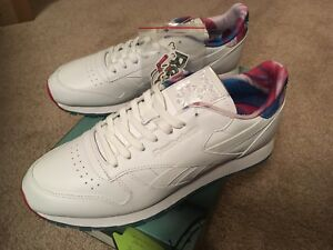 cd526cacee4 Mens Reebok Classic Leather MSP Size 10 White Munchies Pack Slushie ...