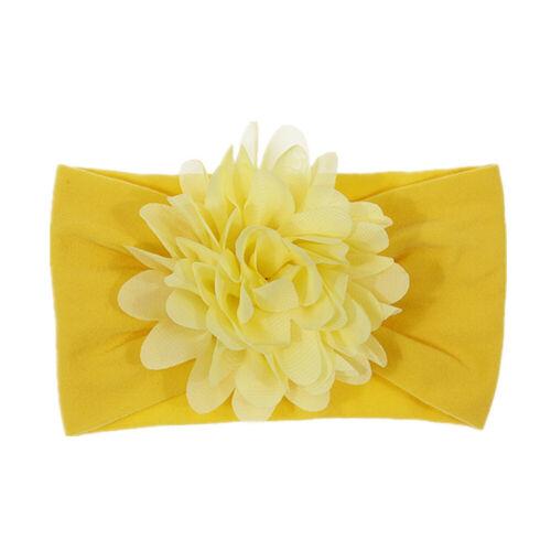 Cute Kid Girl Baby Headband Infant Newborn Flower Bow Hair Band Accessories Gift