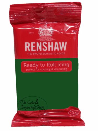 Renshaw Ready To Roll Icing Dark Colour Bundle