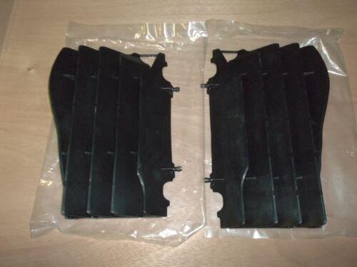 New OEM Honda Black Radiator Covers Guards CRF450R CRF 450R 2005 2006 2007 2008