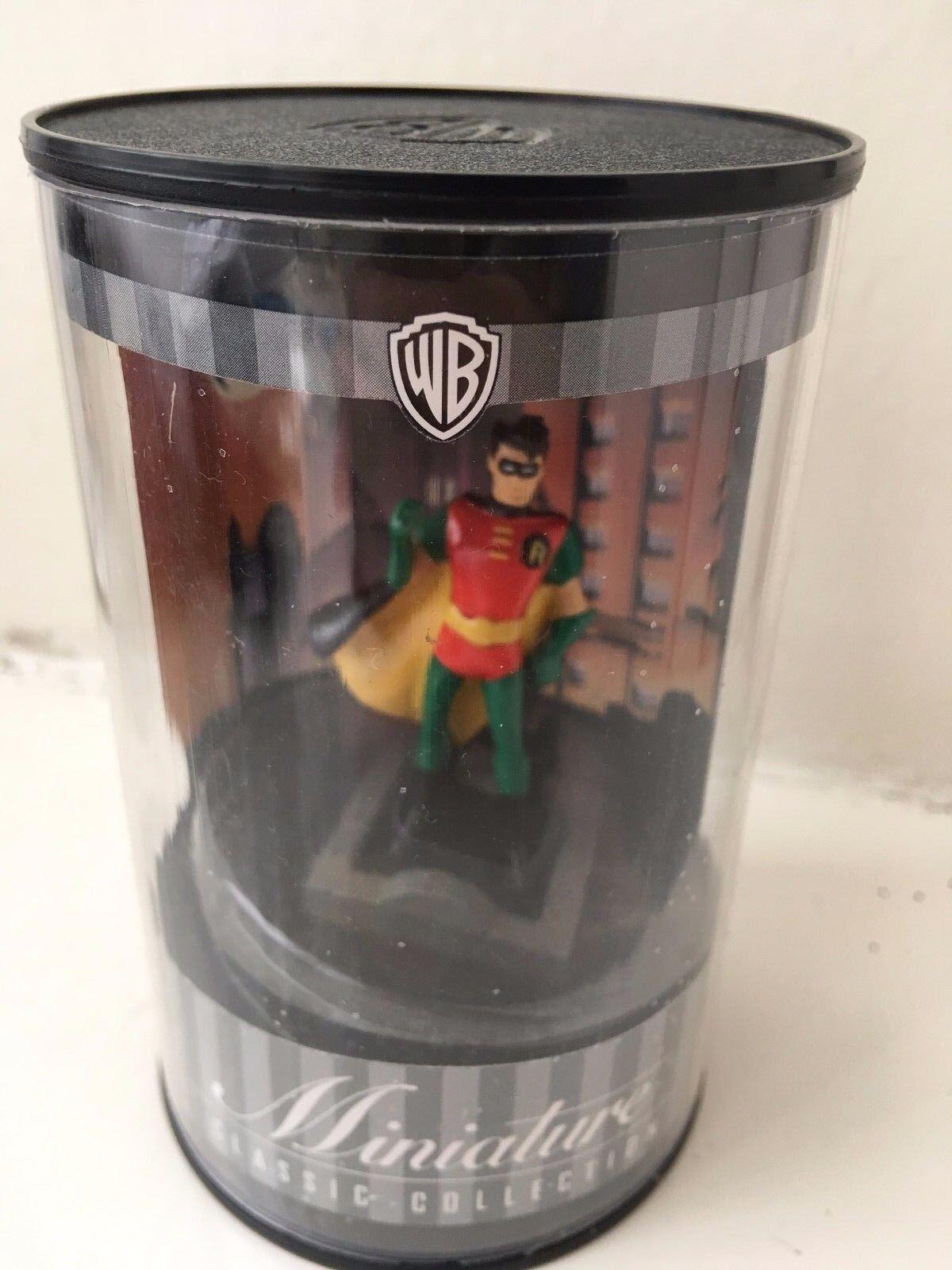 Warner bros miniatur - classic collection animierte figur batman, robin statue