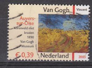 Netherlands-nr-2151-used-Vincent-van-Gogh-Korenveld