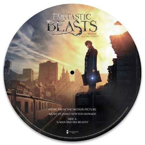 "NEW ""Fantastic Beasts and Where to Find Them"" Soundtrack Single Vinyl LP Record"