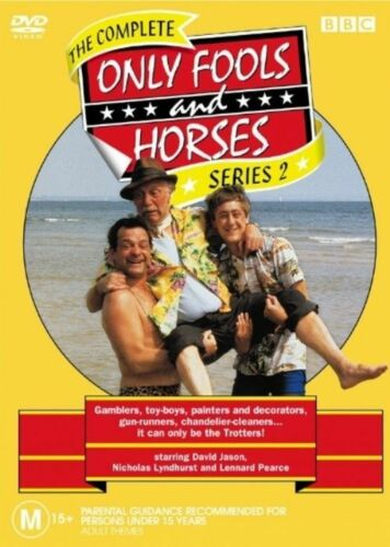 1 of 1 - Only Fools and Horses The Complete Series 2 DVD Classic British Comedy LIKE NEW