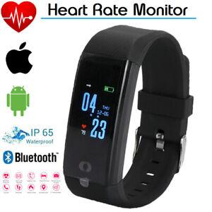 Smart-montre-Bracelet-Bracelet-Fitness-Rythme-Cardiaque-BP-Moniteur-iPhone-Android