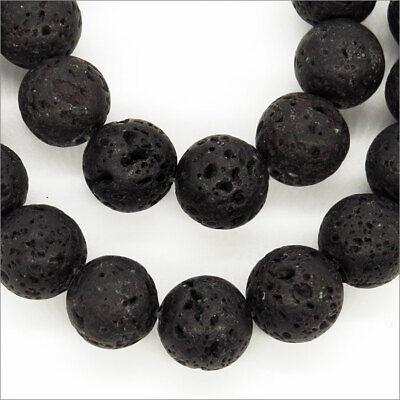 Lot de 20 perles Ovales en verre Décorées 10 x 14mm Noir et Argent