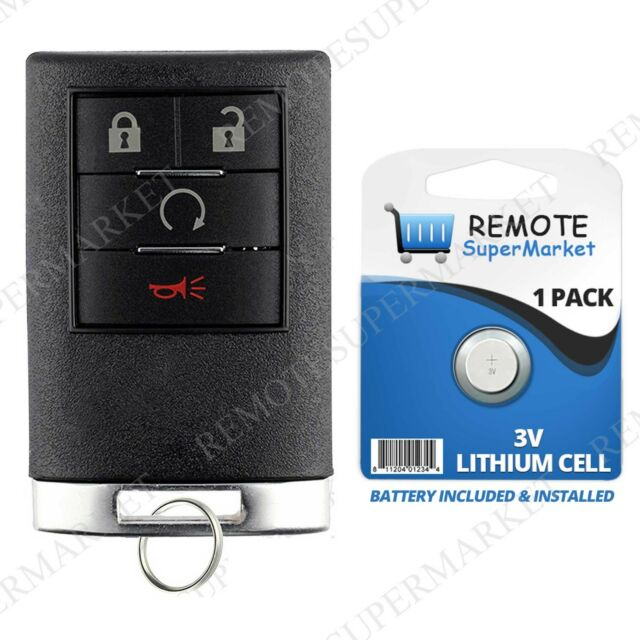 2 Replacement For Cadillac 07 14 Escalade Esv Ext 07 09 Srx Remote