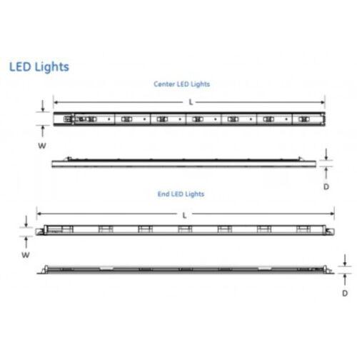 -SB 48 Inch RV40-Vertical GE Lighting GELT404835CTR-SY