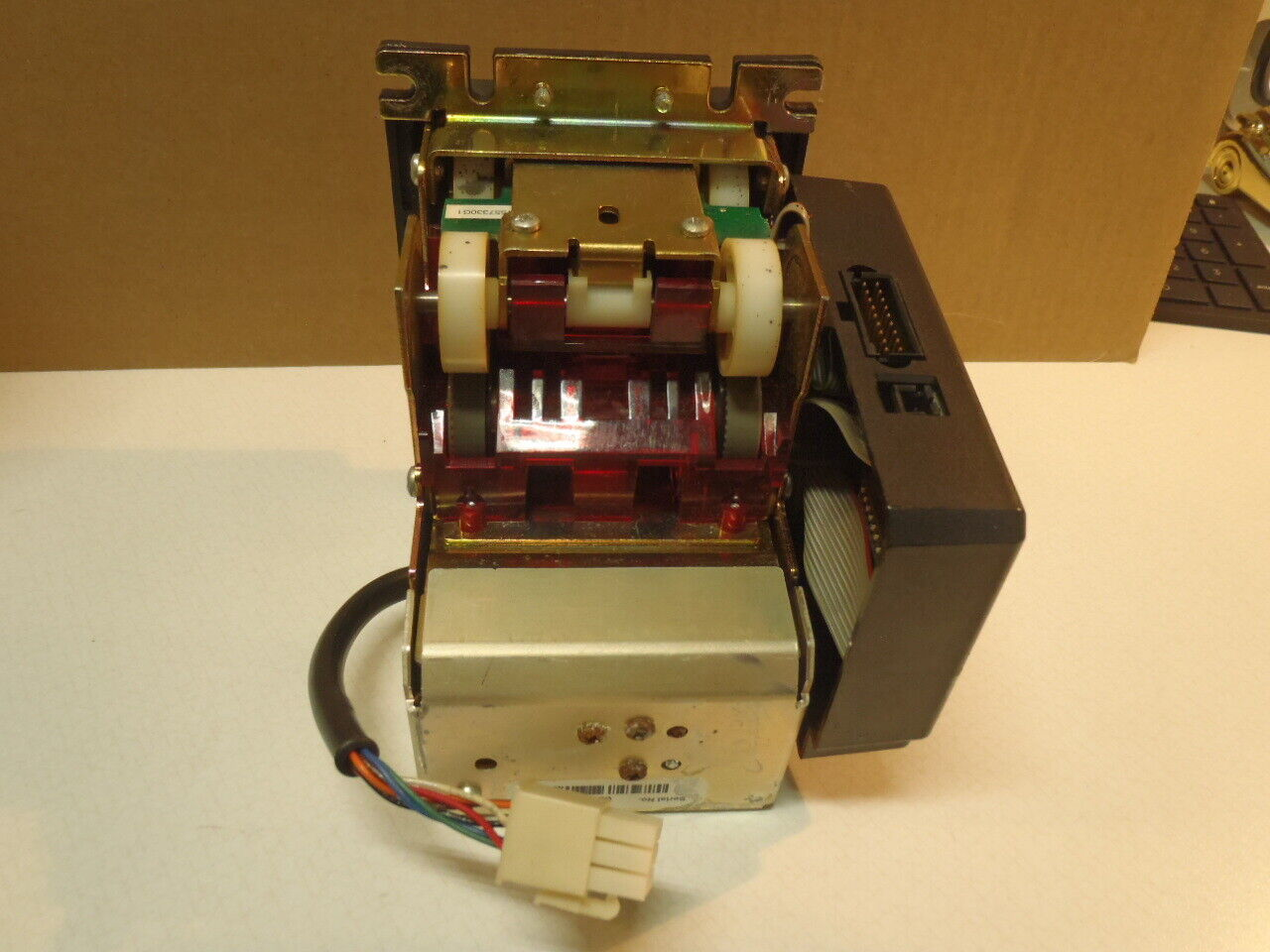 Mars MEI Arcade Harness for Bill Acceptor with  2 Wire Coin switch input 120V