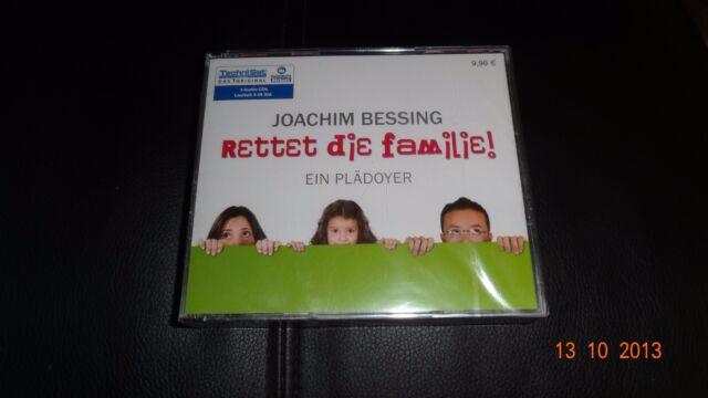 Rettet die Familie, 4 Audio-CDs von Joachim Bessing
