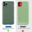 miniatura 6 - Funda para iPhone 11 12 Pro Max XS XR 8 Cámara proteger Funda Blanda de Silicona líquida