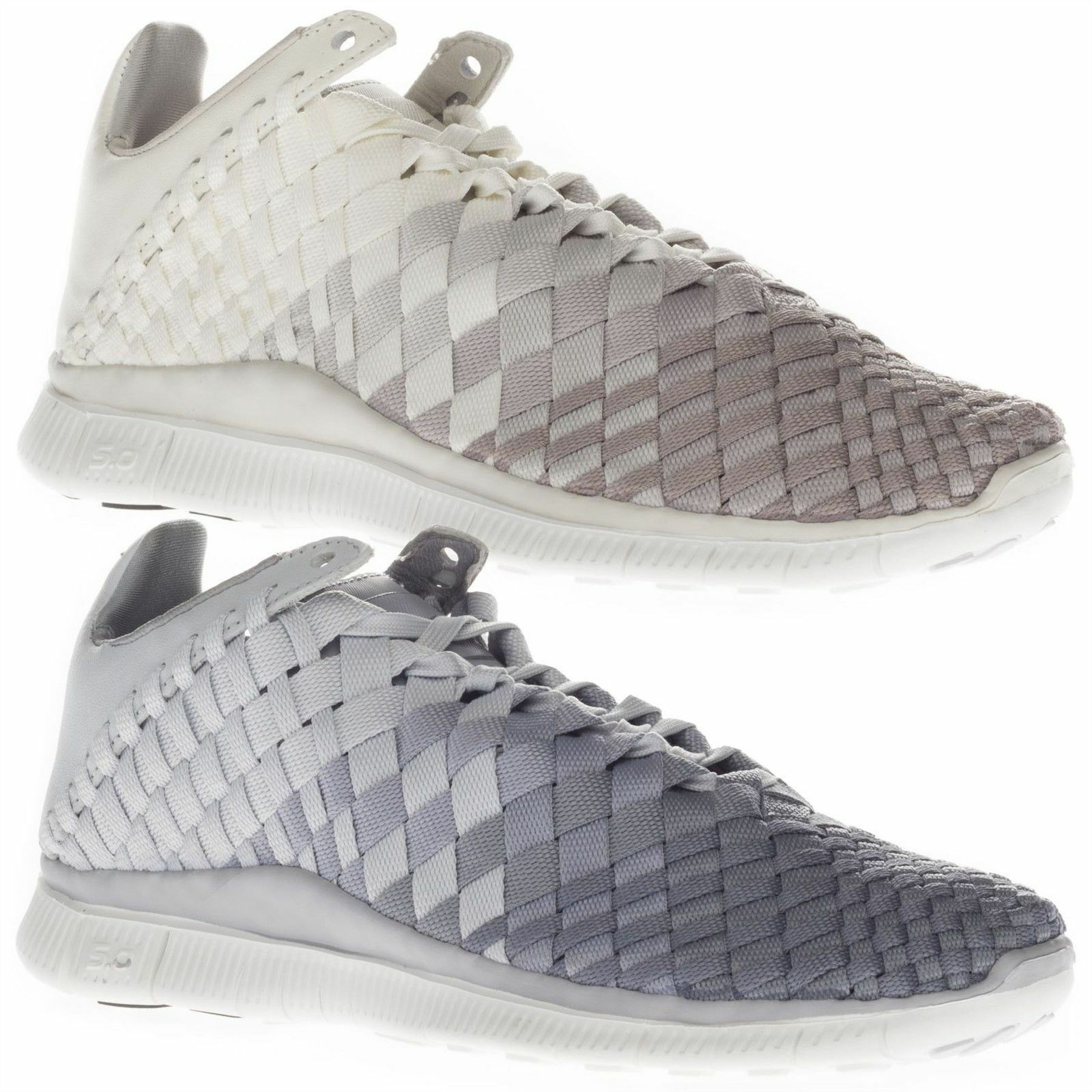 Nike Women's Free White Inneva Woven Low Top Running Sports White Free Beige Trainers 6708fa