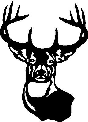 HUNT MORE BITCH LESS Whitetail Deer Decal Sticker for Hunting blind car truck