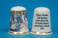 Prince Charles 70th Birthday Photo With The Family 2018 China Thimble B/96