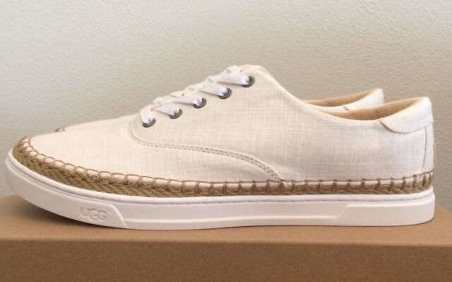 ea9fdd4baa0 Women's UGG Australia Eyan II Tan Canvas Sneaker Size 10 1011223