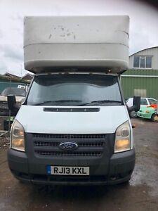 Ford transit 2.2 2013 mk7 extra long wheelbase Luton box with tail lift van
