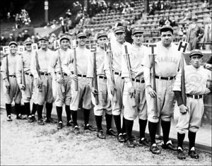 Image Is Loading 1928 Yankees Photo 11x14 Ruth Gehrig Lazzeri Hoyt