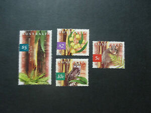 No-92-1996-NATURE-OF-AUST-4-STAMPS-F-S-USED