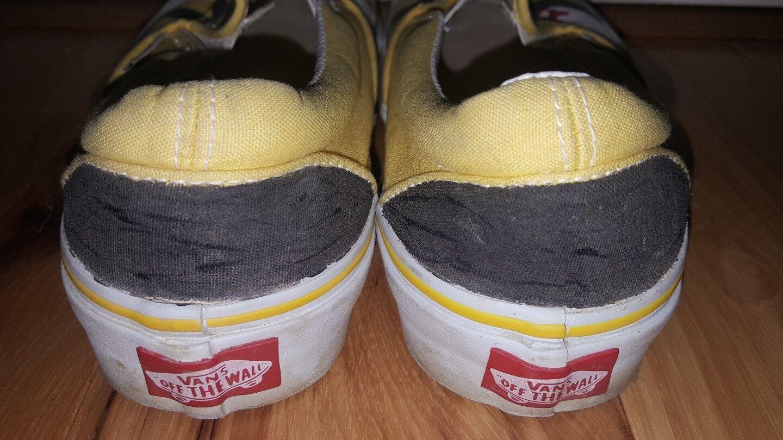 Vans Zapatos Surf Maryland Flag hecho a a a mano para mujer M