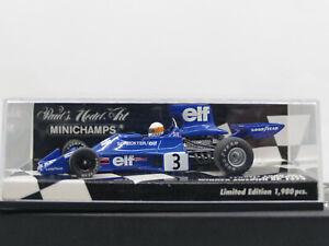 Scheckter 1975 Minichamps 1:43 400750003 Tyrrell Ford 007 J