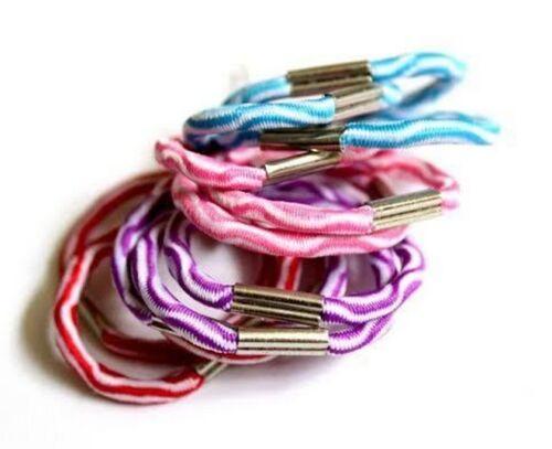 5 Packs Of 12 Beautiful Elastic Bobbles//Hair Band//Ponytail Hair Band//Ponio